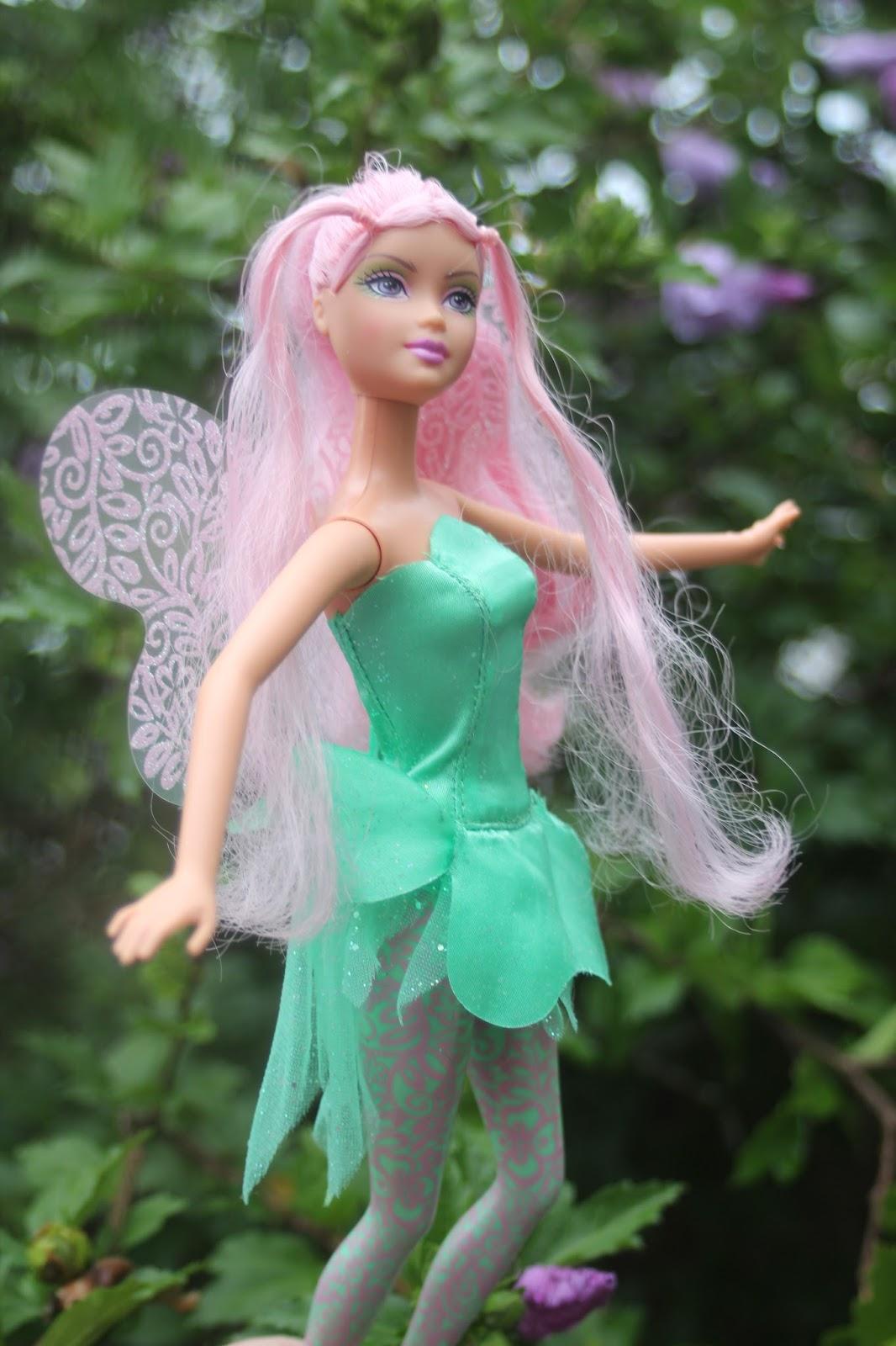 был большой, кукла барби фейритопия фея ёмкость сильно увеличивать