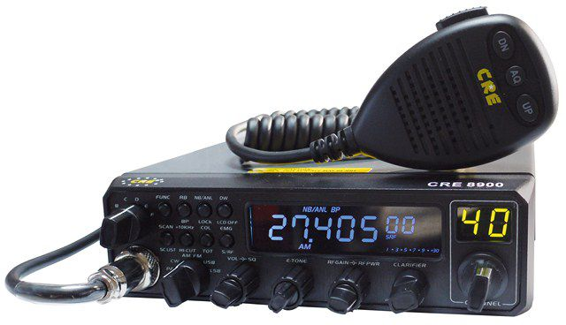 PX2M-7480 / BRA-02-JMO: CRE 8900 10 METER AM FM SSB HAM CB RADIO