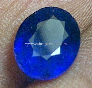Batu Peramata Royal Blue Saphire - ZP 274