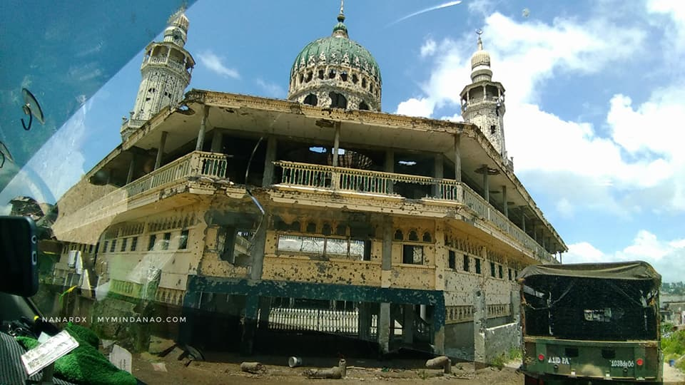 Masjid Mindanao Islamic Center after the war