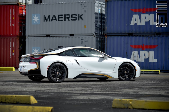 Wrapped BMW I8 by Exclusive Motoring