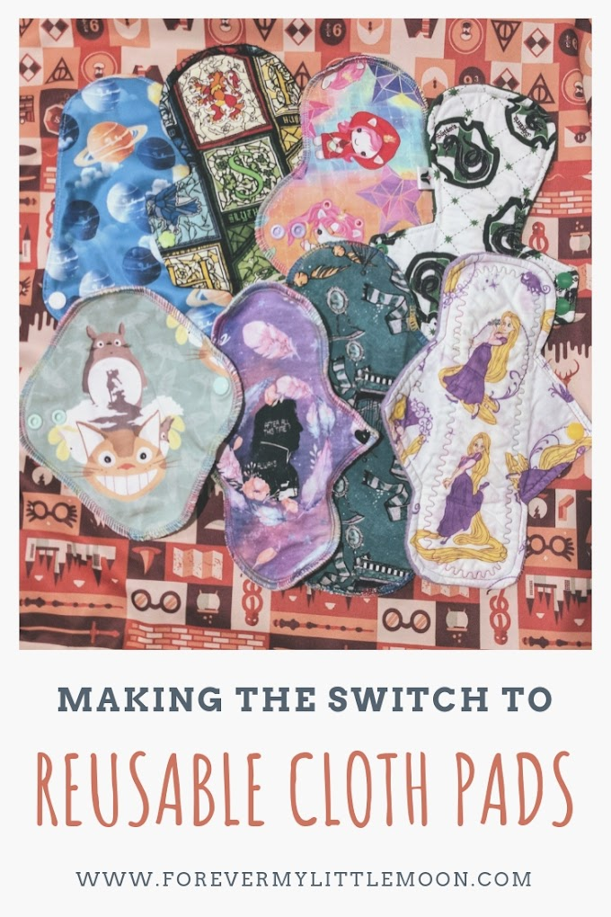 Making The Switch To Reusable Cloth Pads