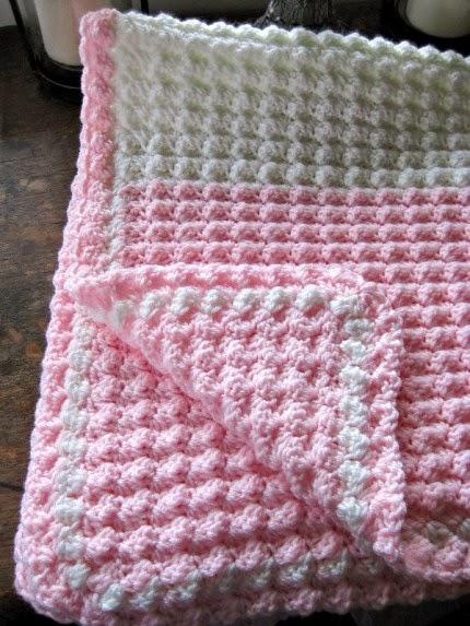 Bubbles Baby Blanket - Free Pattern