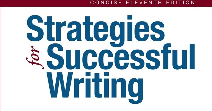 Strategies For Successful Writing 9th Edition Pdf