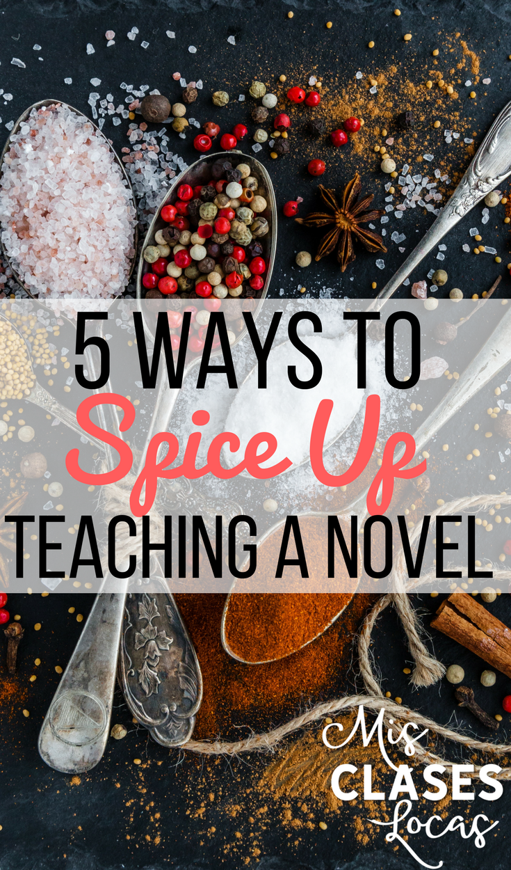 5 Activities to spice up any novel