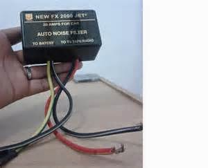 Contoh Anti storing Audio Mobil