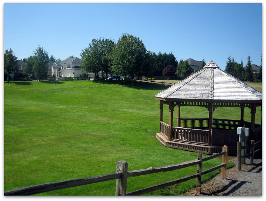 Gazebo in Ashley Heights - Search the 98685 Zip Code for Homes For Sale - Vancouver WA