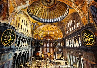 Hagia Sophia Museum, Turki