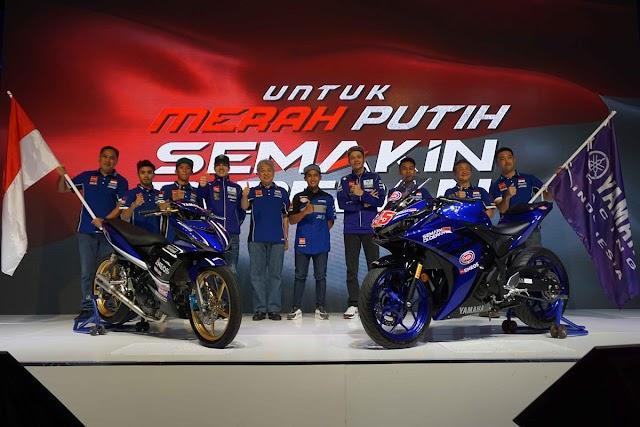 Inilah Tim Yamaha Racing Indonesia Musim 2018, Merah Putih Semakin Di Depan