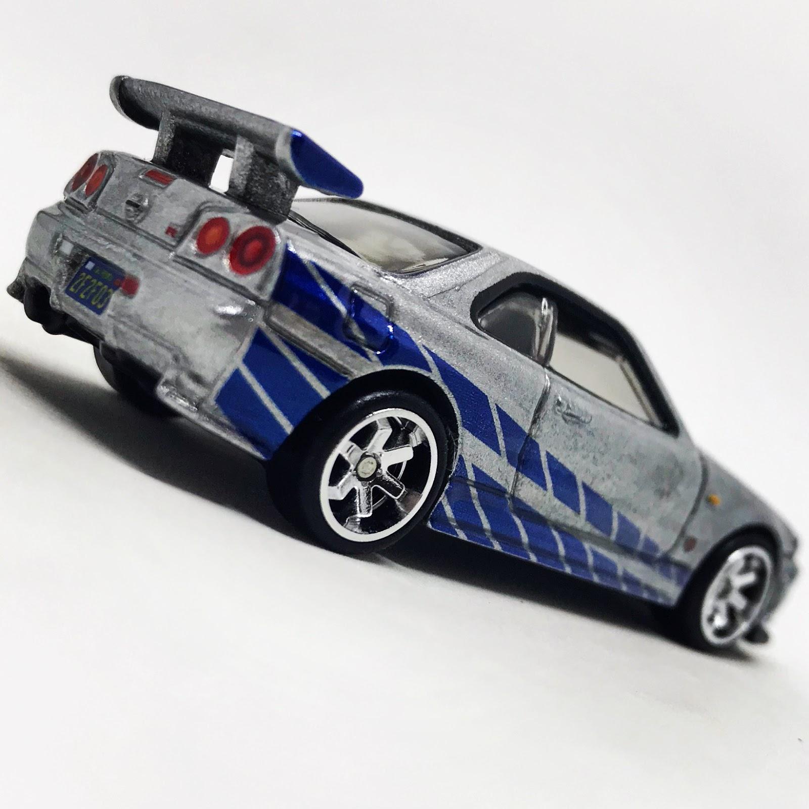 Julian's Hot Wheels Blog: Nissan Skyline GT-R (BNR34