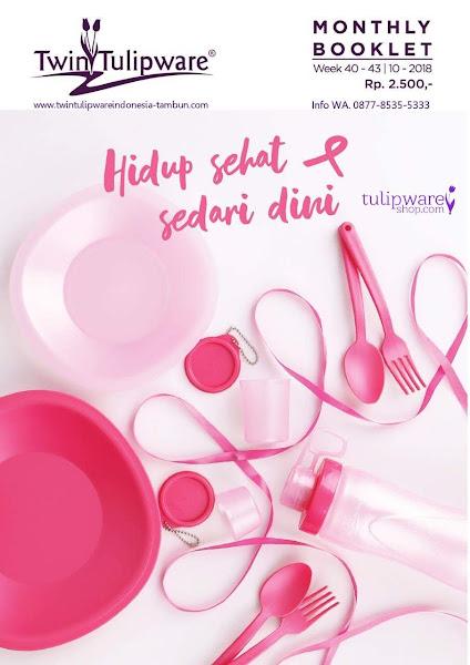 Booklet - Katalog Twin Tulipware Oktober 2018