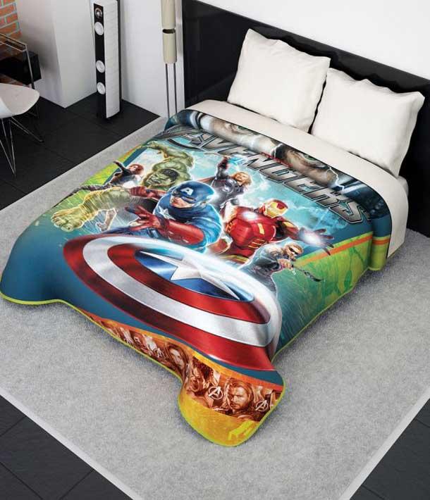Boys Superhero Room Decor: Superhero Bedding Theme For Boys Bedroom