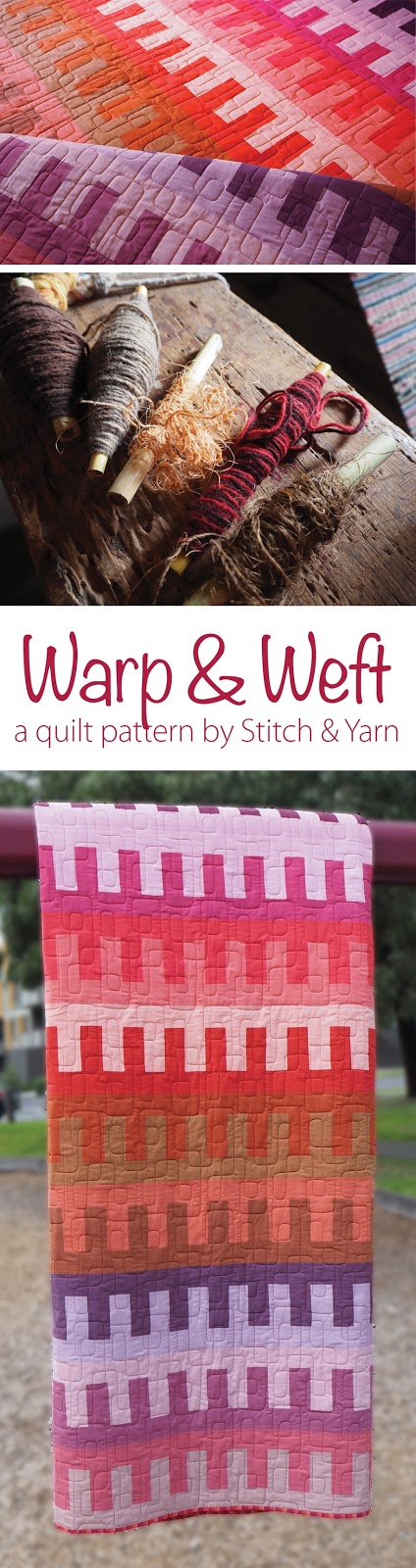 Warp and Weft quilt pattern