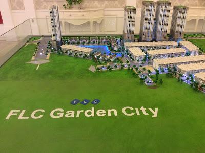 Phối cảnh chung cư FLC Garden City