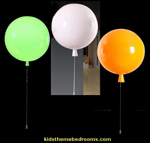 balloon wall light-Pretty Wonderful Yellow Acrylic Contemporary Wall Lights-novelty lights