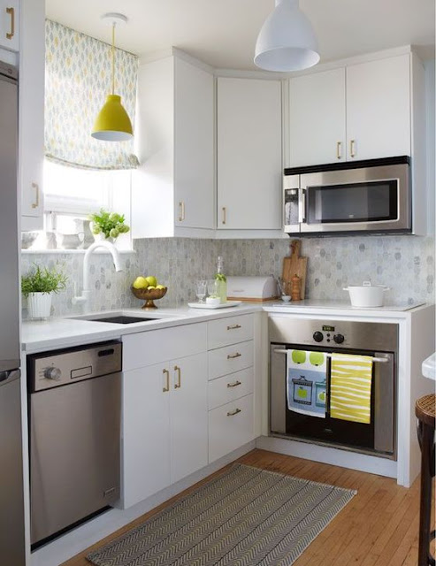 Best Color for a Small Kitchen Ideas