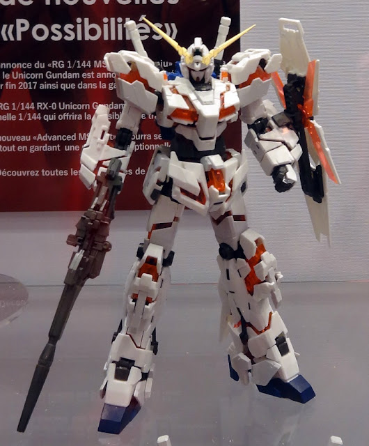 RG Real Grade Unicorn Gundam Paris Japan Expo 2017