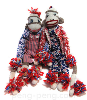 uncle sam sox monkeys id=