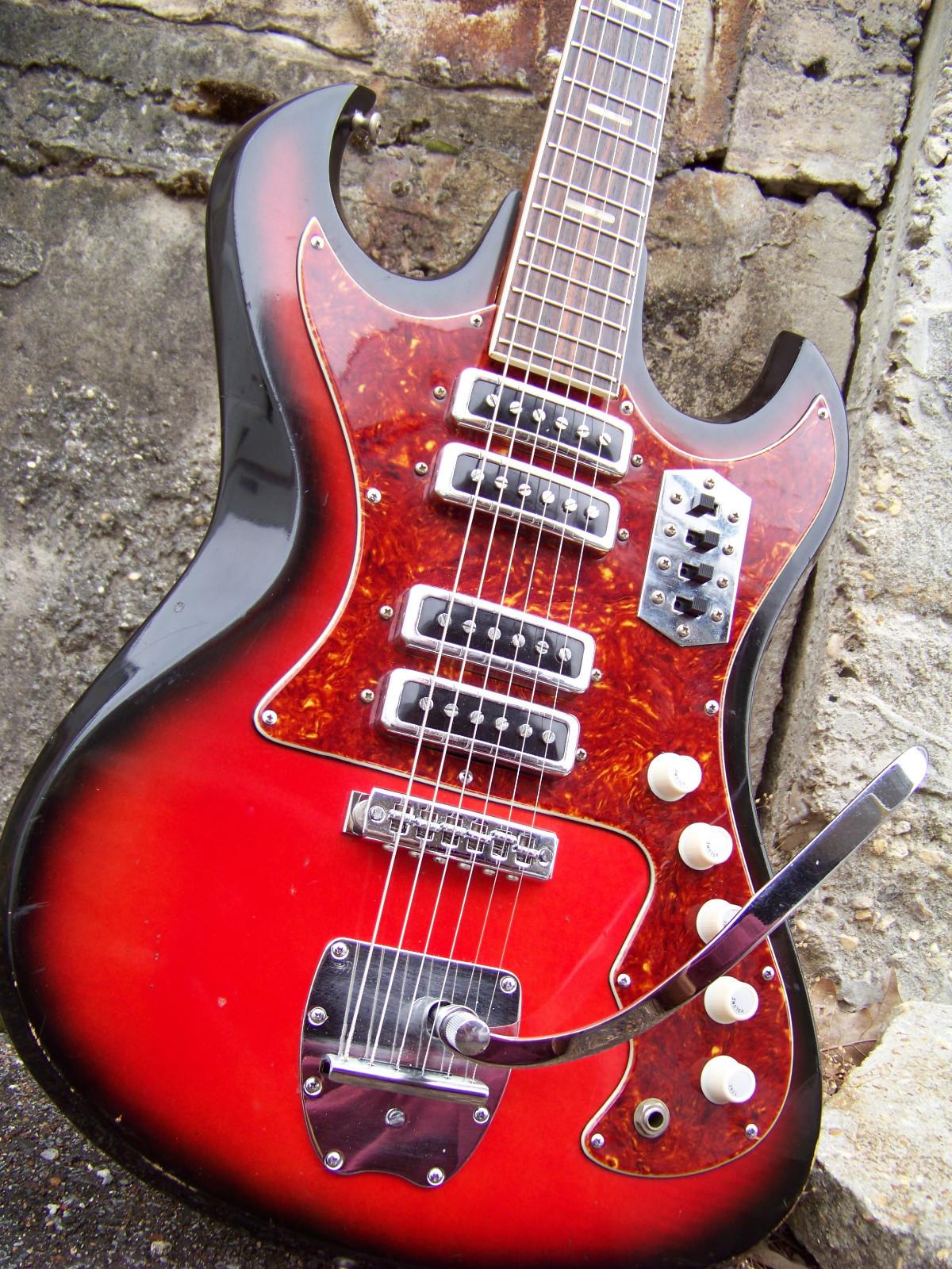 craigslist vintage guitar hunt kawai kingston sd sells for the genuine hound dog taylor kawai teisco electric guitar