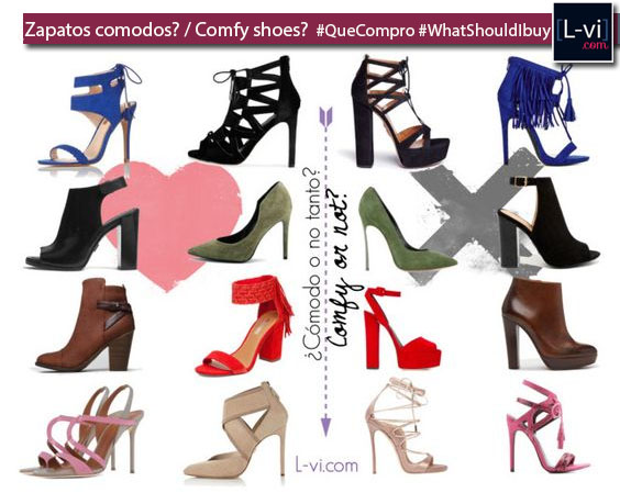 ¿Tus zapatos son cómodos? / Are your shoes comfy?  L-vi.com