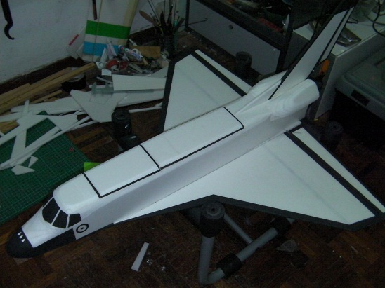 Space Shuttle RC Plane - Pics about space