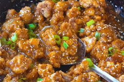 Sticky Sesame Cauliflower