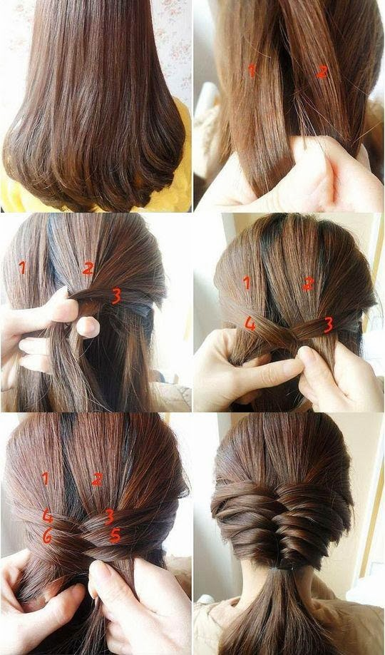 Casual Braid A Very Simple And Easy Hairstyle Fs Fashionista