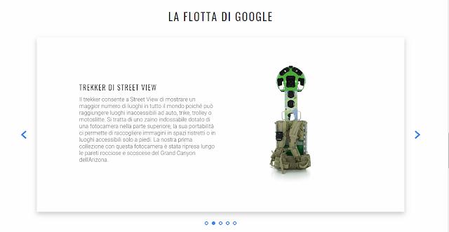 Le speciali telecamere zaino TREKKER di Street View di Google