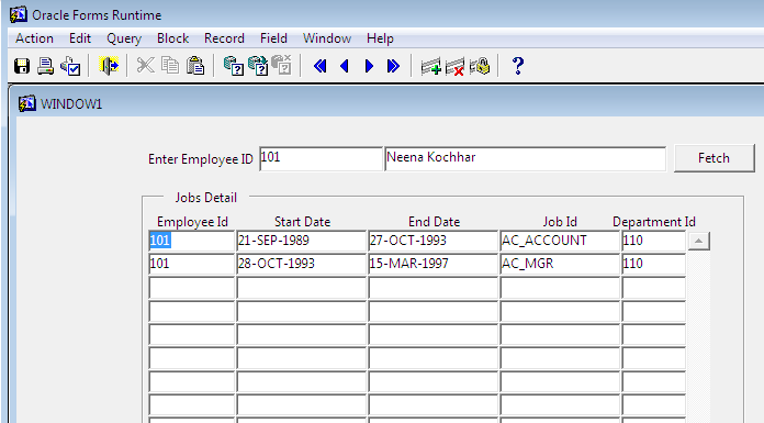Oracle Database/SQL Cheatsheet
