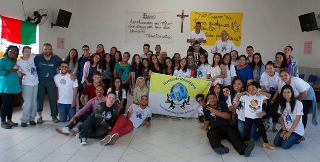 Juventude Missionária da Diocese de Guarulhos reúne-se para retiro anual