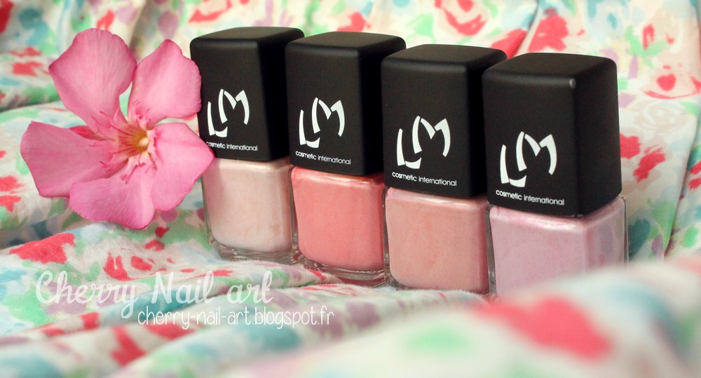 vernis lm cosmetic collection nudes poudrés