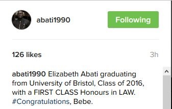 Reuben Abati's Daughter Makes First Class Honors in United Kingdom University (Photos)