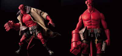 Hellboy Deluxe Action Figure by Mike Mignola x 1000toys x Dark Horse Direct