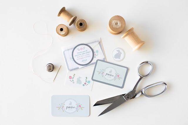 Posie, Aeolidia, Alicia Paulson,branding, logo, business cards