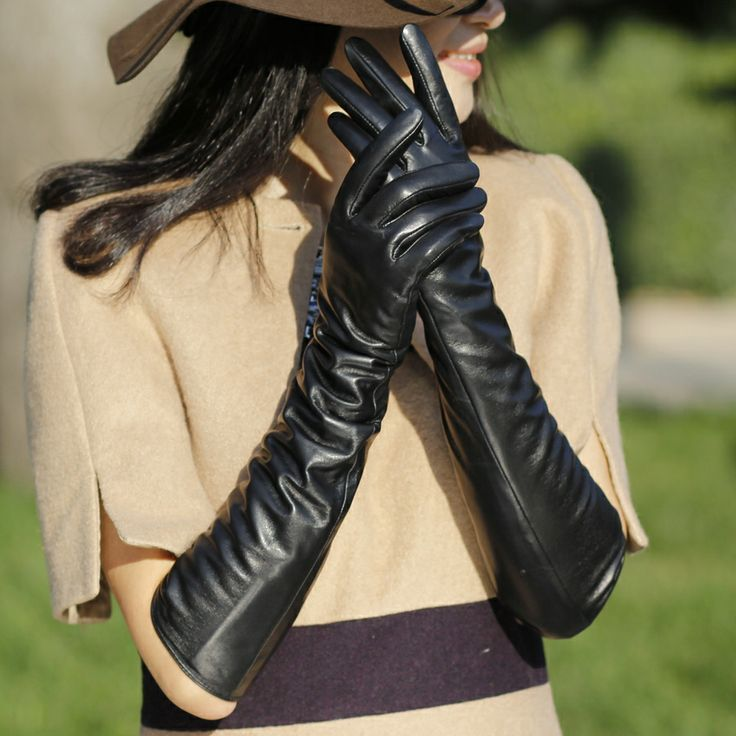 2ed544d11fec7 As soon as summer ends and autumn rolls in, I will place a pair of  silk-lined long leather gloves in my handbag for easy use. It may seem a  tad premature, ...
