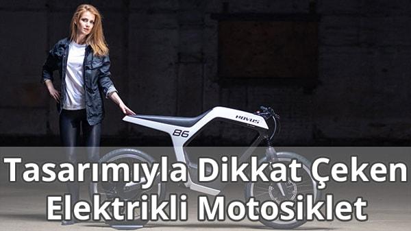 Tasarımıyla Dikkat Çeken Elektrikli Motosiklet: NOVUS