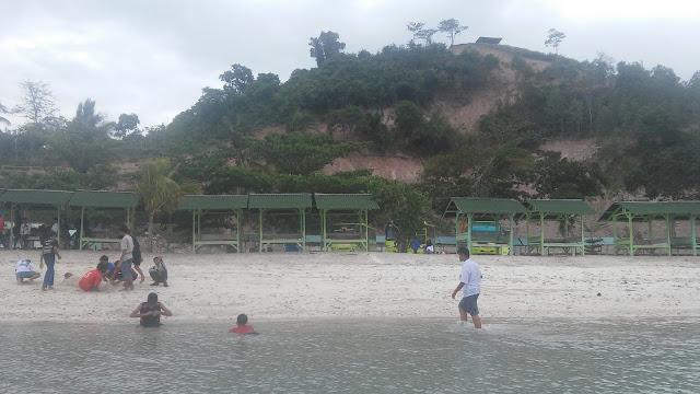 Penampakan Pantai Sari Ringgung di Provinsi Lampung