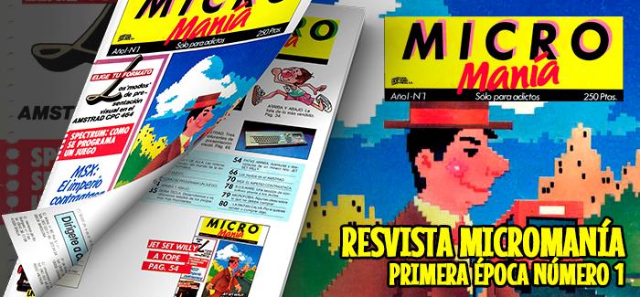 Revista Micromanía Primera época Número 1