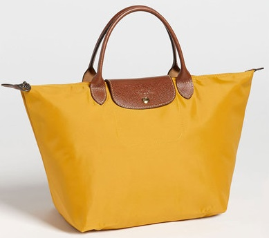 b3ef47d44127 I Want Bags backup: Longchamp Le Pliage SH/M - Sunshine (Yellow ...