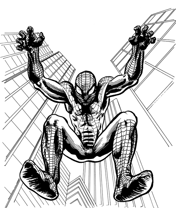 Daniel Spontón Artwork: Spiderman and Hulk - Digital color ...