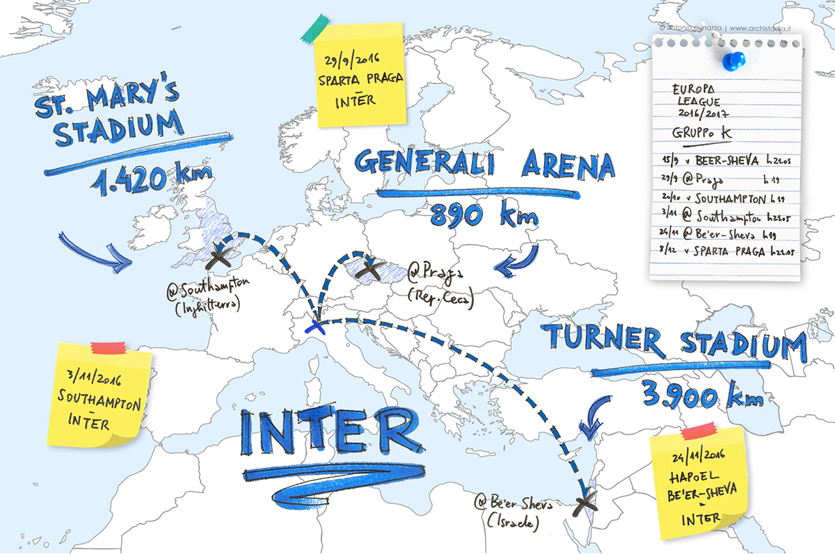 trasferte stadi inter europa league