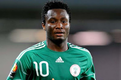 Super Eagles captain, Mikel Obi