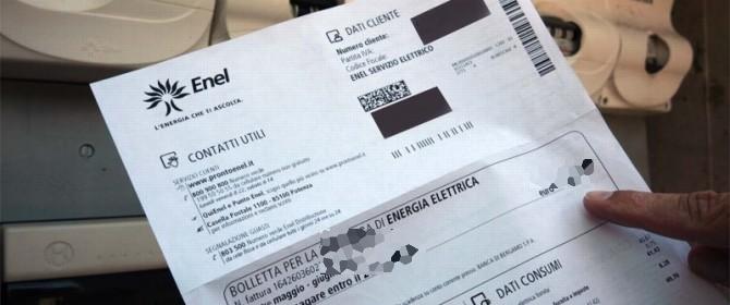 Bolletta energia: 62 euro in più se non paghi entro pochi giorni ...