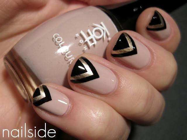 Inspiração: The Great Gatsby Nails