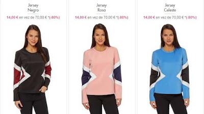 jerseis para mujer baratos