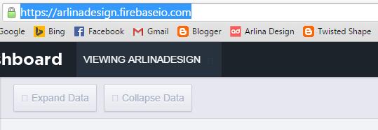 Salin URL Aplikasi