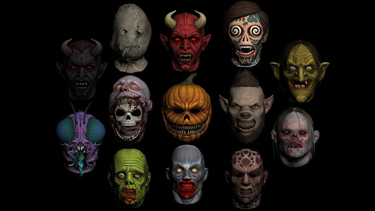 Mascaras GTA V DLC Halloween ''CJ'' Mascaras a Remplazar ...