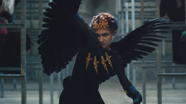 Video: Grimes - Kill V. Maim