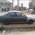 """""""Fear Of #BokoHaram """"; Man Raises Alarm After A Suspicious Car Parked In Front Of His Shop."""
