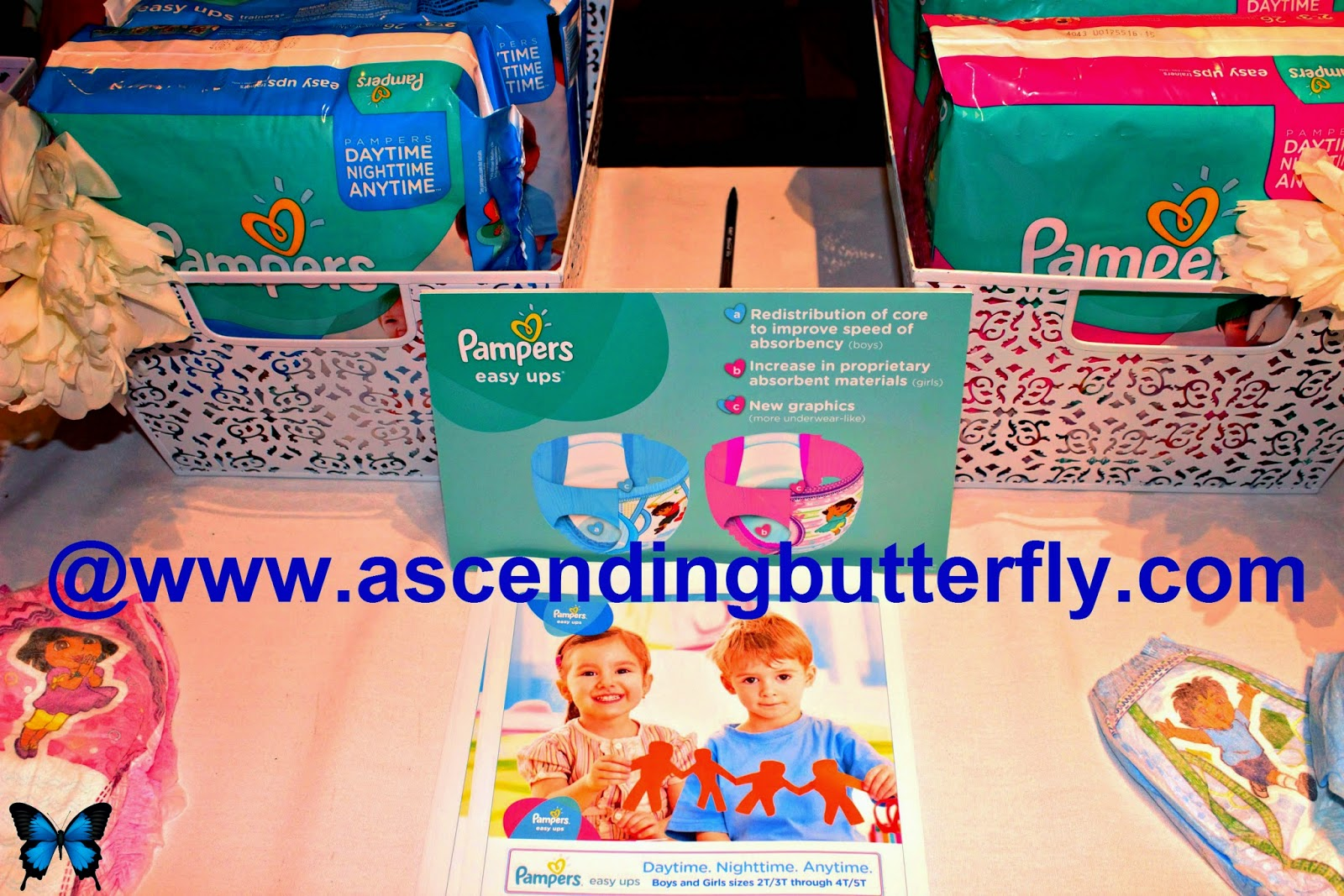 Pampers at Getting Gorgeous 2014